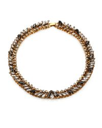 Aerin Erickson Beamon | Brown Jeweled Necklace | Lyst