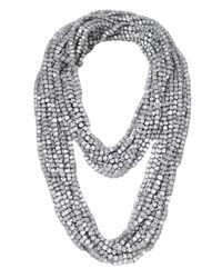 Jianhui | Metallic Ten Strand Multiway Necklace | Lyst