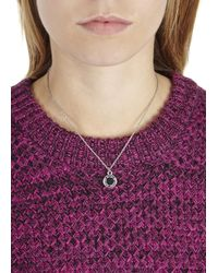 Marc By Marc Jacobs - Black Enamel Disc Necklace - Lyst