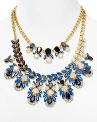 Kate Spade | Metallic Daylight Jewels Bib Necklace | Lyst