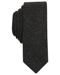 Original Penguin | Black Stanwix Solid Skinny Tie for Men | Lyst