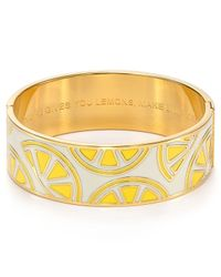 kate spade new york | Yellow When Life Gives You Lemons Make Limoncello Idiom Bangle | Lyst