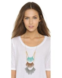 Adia Kibur | Briana Necklace - Blue Multi | Lyst