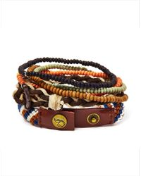 Icon Brand | Multicolor Bracelet With Mixed Beads for Men | Lyst