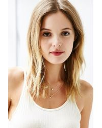Urban Outfitters - Metallic Phillips Layering Necklace Set - Lyst