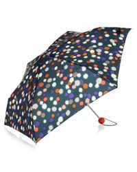 Hobbs - Blue Ikat Spot Umbrella - Lyst