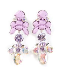 EK Thongprasert - Purple Silicone Earrings - Lyst