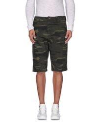 Minimum - Green Bermuda Shorts for Men - Lyst