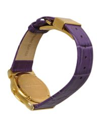 Ferragamo - Purple Wrist Watch - Lyst
