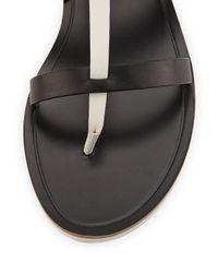 Vince - Crete Multicolor Leather Thong Sandal - Lyst