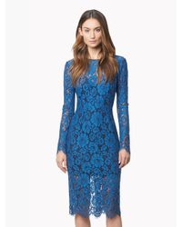 Veronica Beard | Blue Knee-length Dress | Lyst