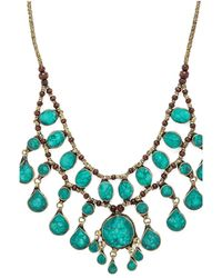 Natalie B. Jewelry | Green Casssidy Ii Necklace | Lyst