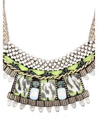 Nocturne | Green Fay White Necklace | Lyst