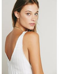 Free People | White Womens Fp One Aphrodite Maxi Dress | Lyst
