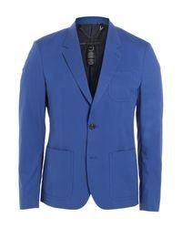 Marc By Marc Jacobs | Cotton Blazer - Blue for Men | Lyst