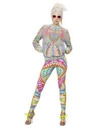 Manish Arora - Multicolor Sequined Chiffon Jacket - Lyst