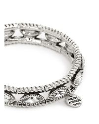 Philippe Audibert | Metallic 'mandy' Crystal Elastic Bracelet | Lyst