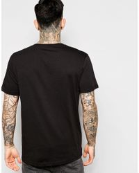 Cheap Monday | Black T-shirt Standard Embroid Logo for Men | Lyst