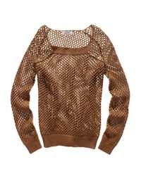 Madewell - Brown Saltspring Sweater-top - Lyst