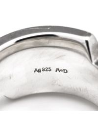 Hermès - Metallic Guaranteed Authentic Pre-owned Ring - Lyst