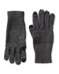 Banana Republic | Gray Extra-fine Merino Wool Texting Glove for Men | Lyst