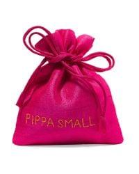 Pippa Small - Metallic 18-karat Gold Tourmaline Earrings - Lyst