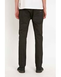 Nudie Jeans - Tape Ted Jeans In Black Ring for Men - Lyst