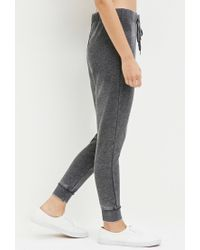 Forever 21 - Gray Faded Drawstring Sweatpants - Lyst