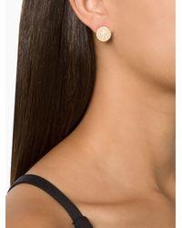 Ileana Makri - Metallic 'eclipse' Diamond Earrings - Lyst