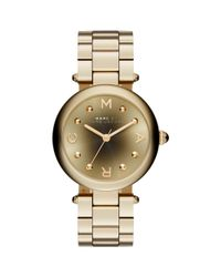 Marc Jacobs - Metallic Women's Dotty Stainless Steel Bracelet Strap Watch - Lyst