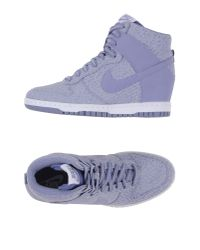 Nike | Purple High-tops & Trainers | Lyst