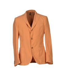 Harmont & Blaine - Orange Blazer for Men - Lyst