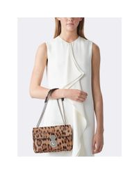 Pink Pony - Brown Haircalf Ricky Chain Bag - Lyst