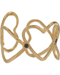 Suzannah Wainhouse Jewelry | Metallic Eternal Heart Cutout Ring | Lyst