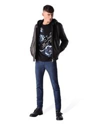 DIESEL | Black T-bron for Men | Lyst
