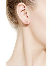 Peter Byworth | Metallic Single Star Earring | Lyst