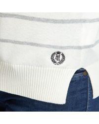 Henri Lloyd   White Janessa Stripe Knit   Lyst