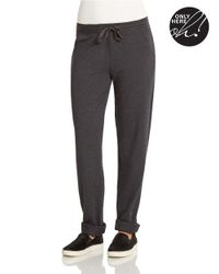 424 Fifth - Gray Drawstring Lounge Pants - Lyst
