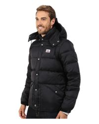 Penfield | Black Bowerbridge Down Insulated Hooded Jacket for Men | Lyst