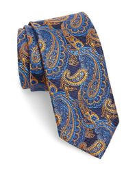 Robert Talbott | Blue Paisley Silk Tie for Men | Lyst