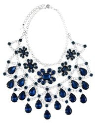 DSquared² | Blue Embellished Necklace | Lyst