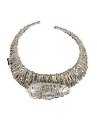 Jil Sander | Metallic Necklace | Lyst