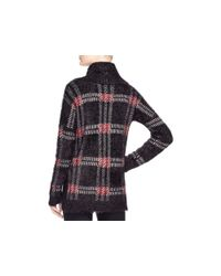 Sanctuary - Black Plaid Turtleneck Sweater - Lyst