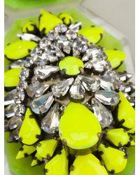 Shourouk | Yellow Mini Coddington Necklace | Lyst