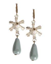Erika Cavallini Semi Couture - Gray Earrings - Lyst