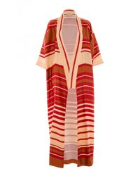 Temperley London | Red Long Shore Kimono | Lyst