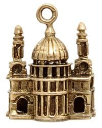 Annina Vogel - Metallic Vintage Gold St Paul'S Cathedral Charm - Lyst