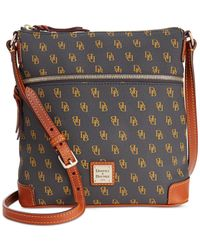 Dooney & Bourke | Gray Gretta Crossbody | Lyst
