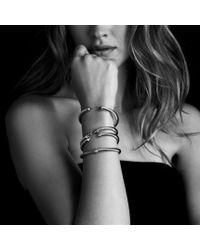 David Yurman - Cable Classics Bracelet with Black Onyx and Diamonds - Lyst