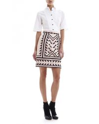 Temperley London | White Malvina Sleeved Shirt | Lyst